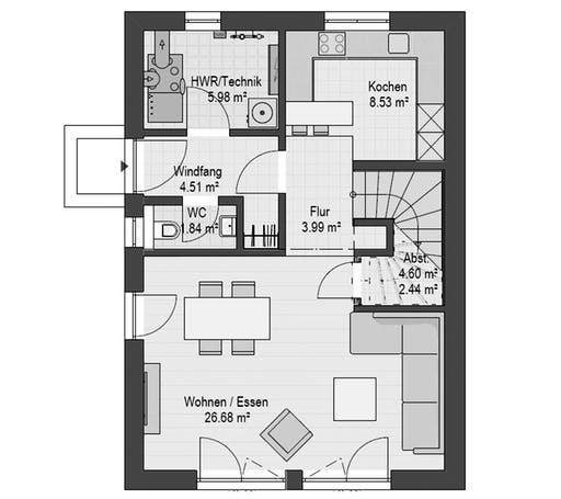 Haas D 112 B Floorplan 1