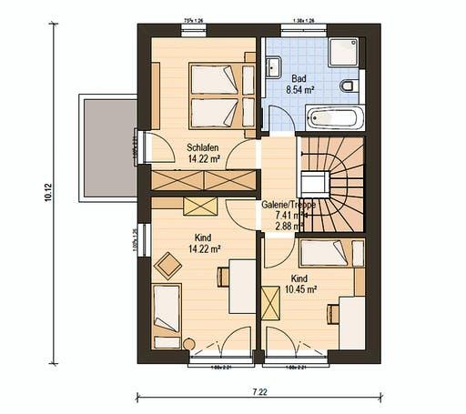 Haas D 122 B Floorplan 6
