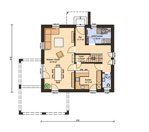 Haas Fertigbau - O 141 B Floorplan 1