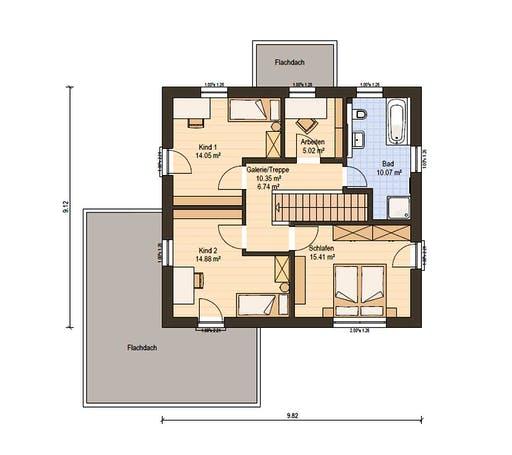 Haas Fertigbau - O 141 B Floorplan 2