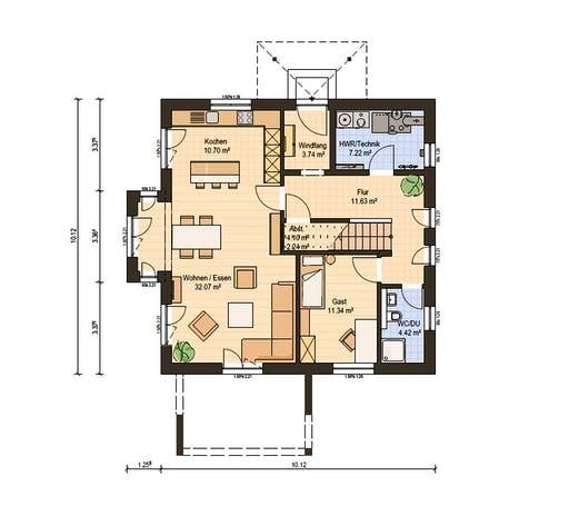 Haas Fertigbau - O 163 B Floorplan 1