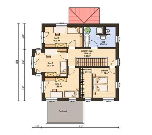 Haas Fertigbau - O 163 B Floorplan 2