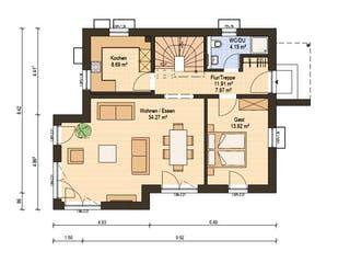 Haas S 130 D von Haas Haus Grundriss 1