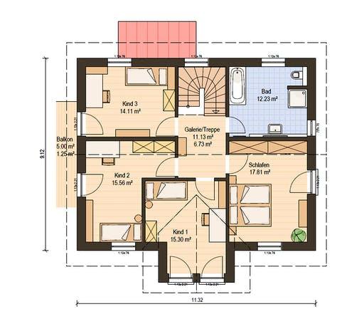 Haas Fertigbau - S 165 A Floorplan 2