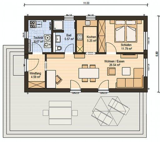 Haas FH 60 Floorplan 1