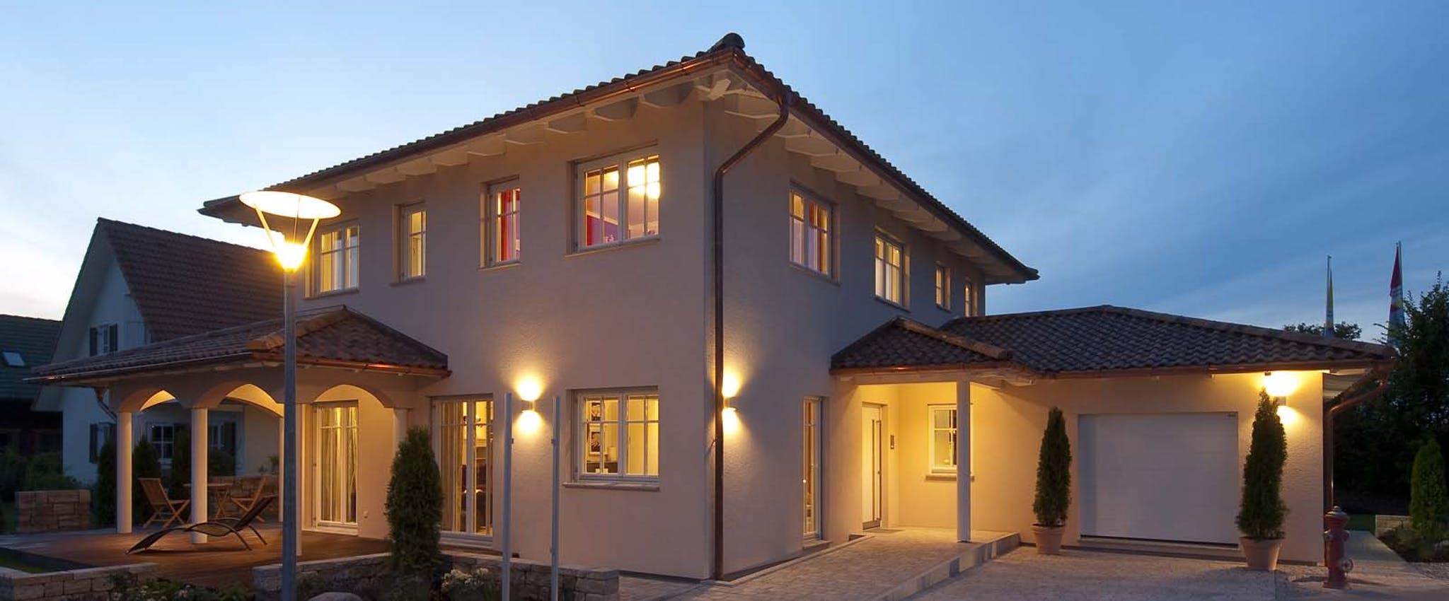 Mediterranes Haus Fertighausde
