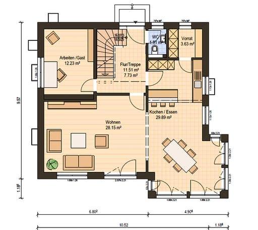 Haas MH Poing G 154 Floorplan 3