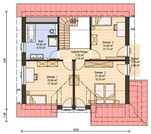 Haas MH Poing G 154 Floorplan 4