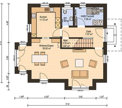 Haas O 129 B Floorplan 3