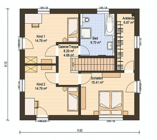 Haas O 141 C Floorplan 2