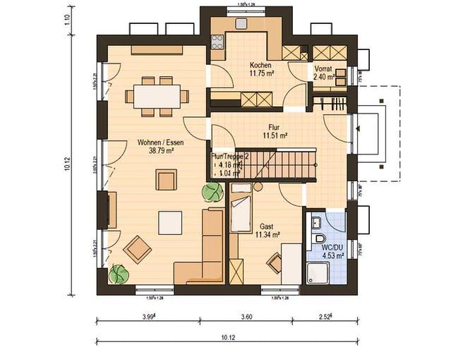 Haas O 163 A Floorplan 3