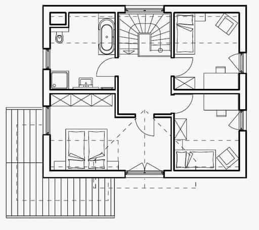 Haas S 130 A Satteldach Var. 1 floor_plans 0