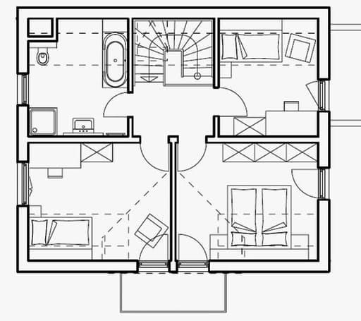Haas S 130 C Satteldach - Var. 2 floor_plans 0