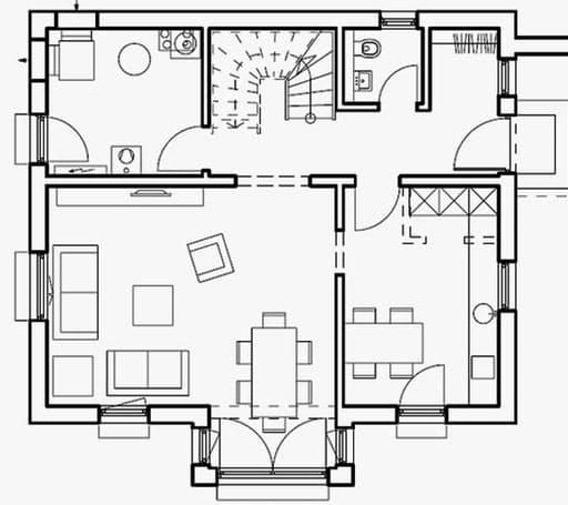 Haas S 130 C Satteldach - Var. 2 floor_plans 1