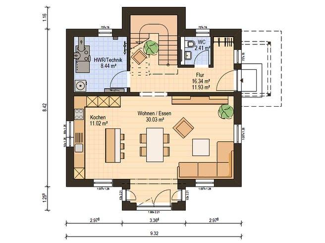 Haas S 122 A Floorplan 3
