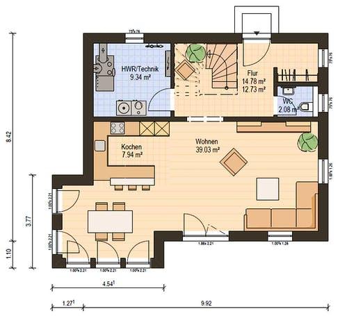 Haas S 130 A SD Floorplan 3
