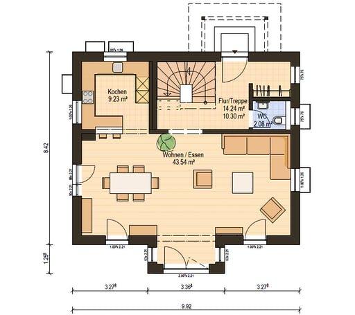 Haas S 130 B Floorplan 3
