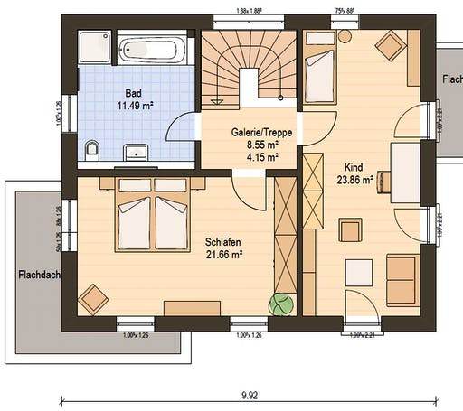 Haas S 130 D FD Floorplan 4