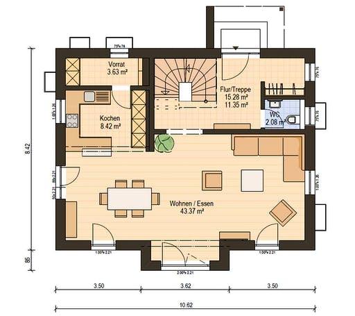 Haas S 140 A Floorplan 3