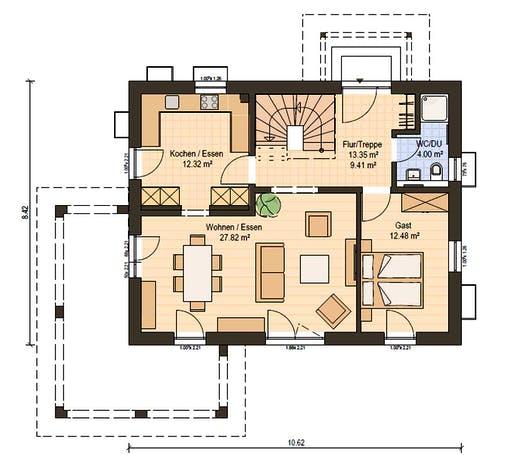 Haas S 140 B Floorplan 3