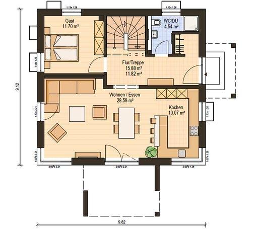 Haas S 141 B Floorplan 3