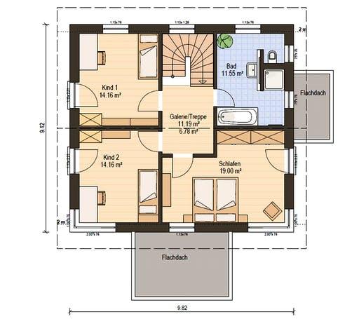 Haas S 141 B Floorplan 4
