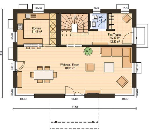 Haas S 154 A Floorplan 3