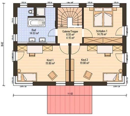 Haas S 154 A Floorplan 4