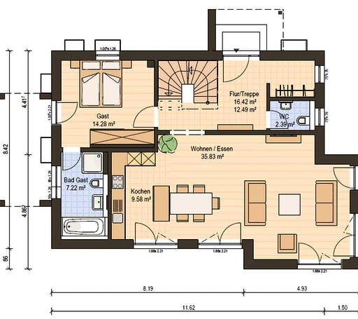 Haas S 154 B Floorplan 3