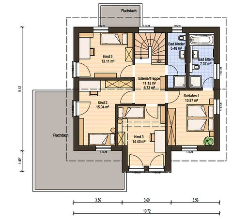 Haas S 155 B Floorplan 4