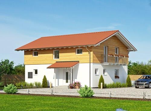 Satteldach-Klassiker Haas Haus S 165 A Exterior 1