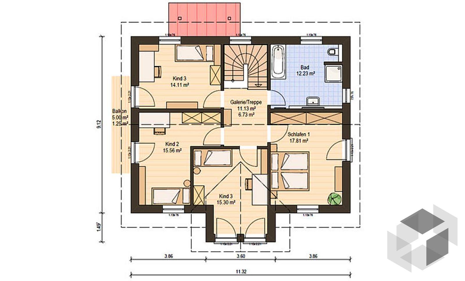 Haas s 165 a von haas haus komplette daten bersicht for Floor plans for 160 000
