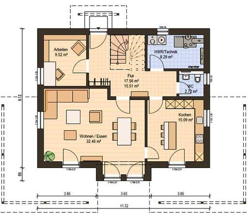 Haas S 165 B Floorplan 3