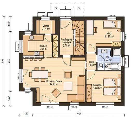 Haas Z 159 A Floorplan 1