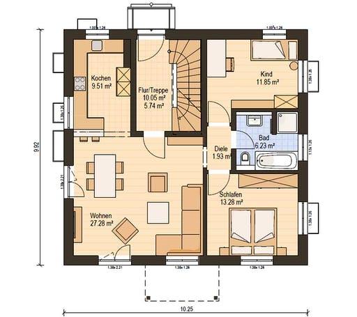 Haas Z 159 B Floorplan 1