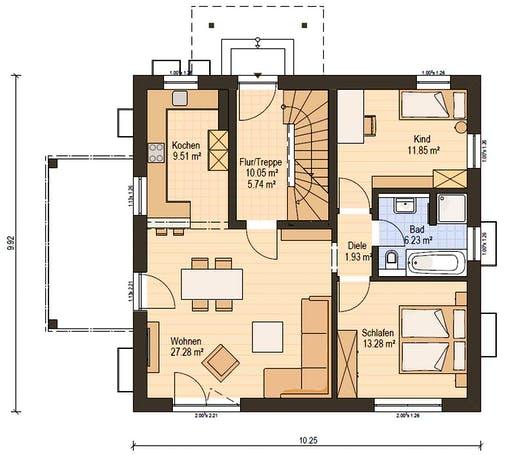 Haas Z 159 C Floorplan 1
