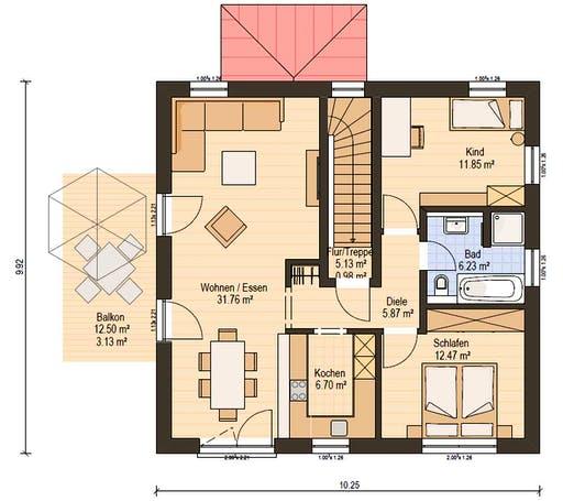 Haas Z 159 C Floorplan 2