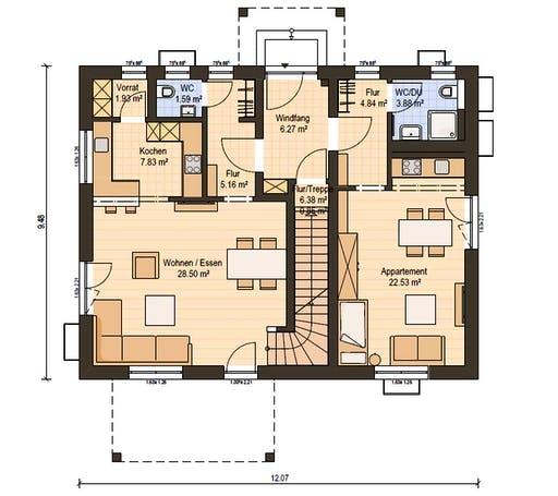 Haas Z 175 A Floorplan 1