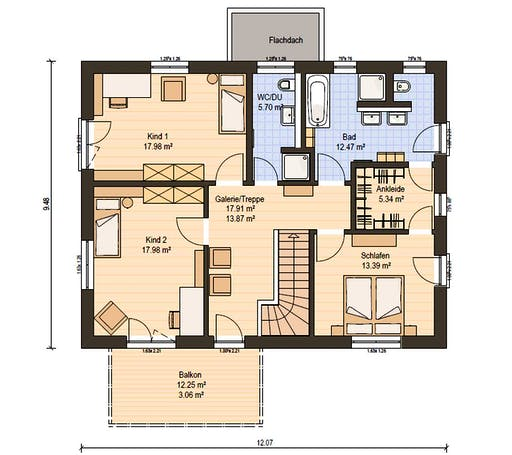 Haas Z 175 A Floorplan 2