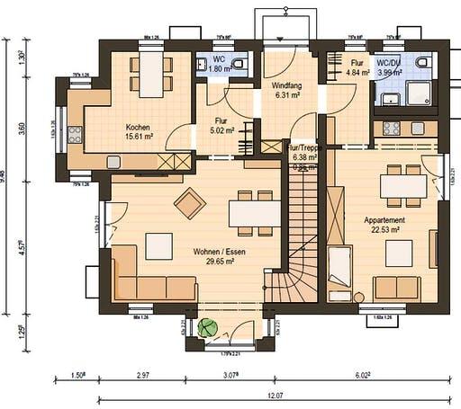 Haas Z 175 B Floorplan 1