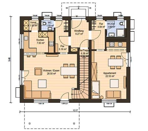 Haas Z 175 C Floorplan 1