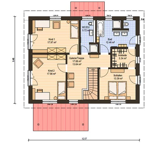 Haas Z 175 C Floorplan 2