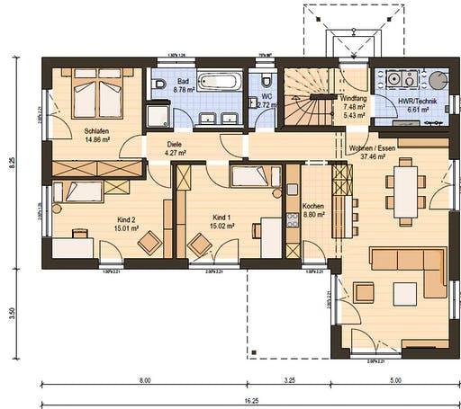 Haas Z 244 A Floorplan 1