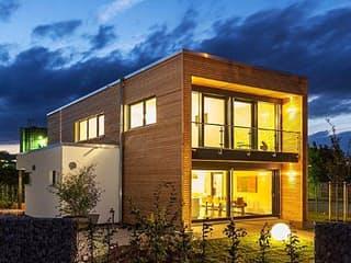 Musterhaus Hameln Box von Meisterstück-HAUS Außenansicht 1