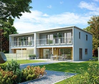 Haus mit Wintergarten oder Erker | Fertighaus.de