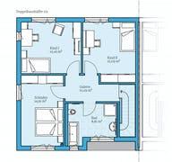 Doppelhaus 131 Grundriss