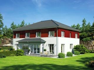 Doppelhaus 139 von Hanse Haus Außenansicht 1