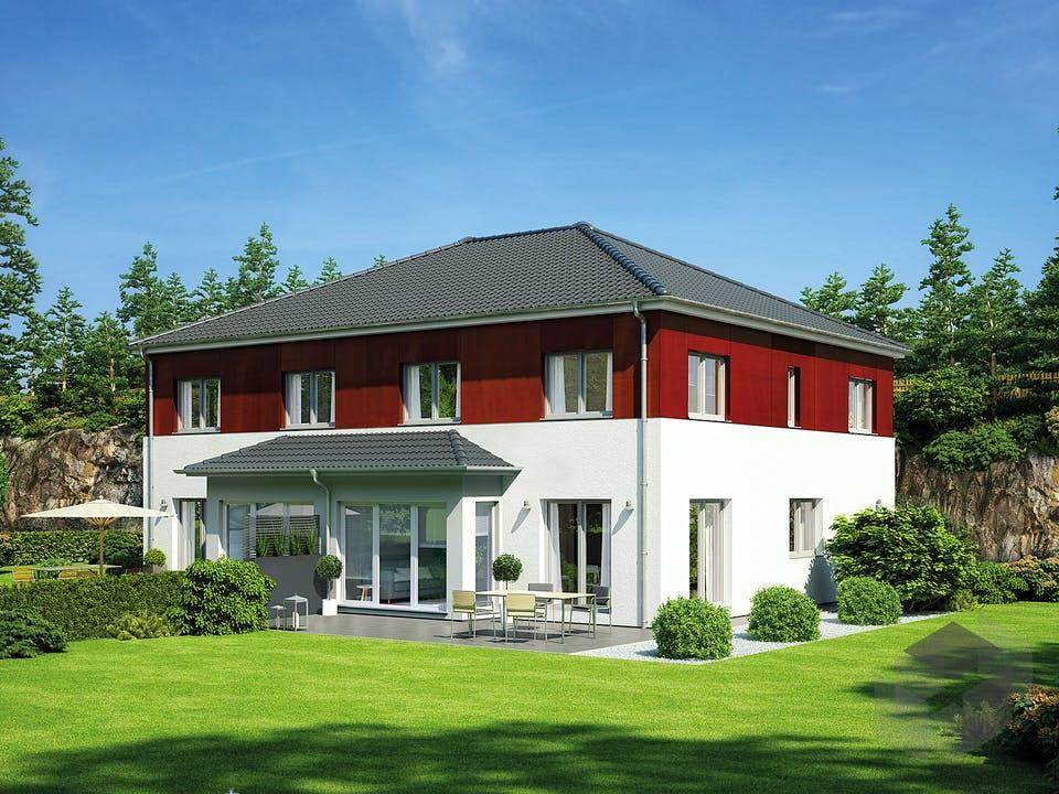 Doppelhaus 139 von Hanse Haus Außenansicht