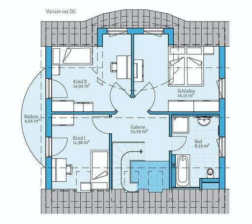 Hanse - Variant 143 Floorplan 2