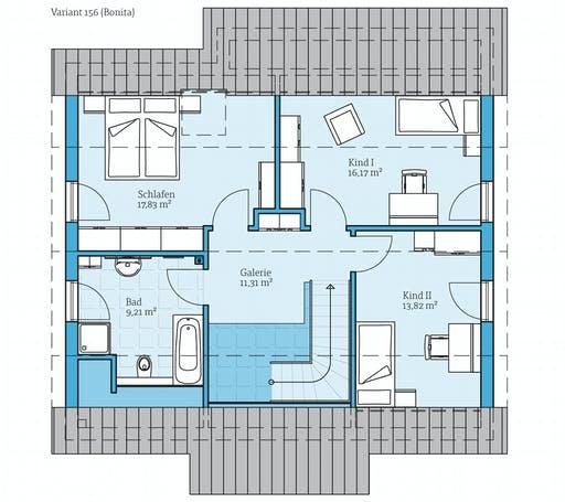 Hanse - Variant 156 Floorplan 2